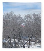 Drapeau Canadien / Canadian Flag Fleece Blanket