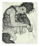 Drawings I Fleece Blanket