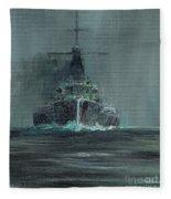 Dreadnought 1907 Fleece Blanket