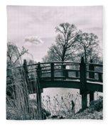 Dream Bridge Fleece Blanket