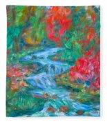Dream Creek Fleece Blanket