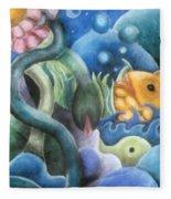 Dream Fish Fleece Blanket