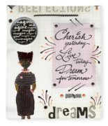 Dream For Tomorrow Fleece Blanket