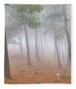 Dream Forest II. Living In A Dream... Fleece Blanket