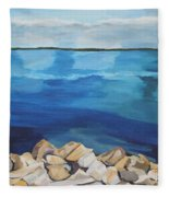 Dream Lake Fleece Blanket
