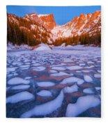 Dream Lake Dimples Fleece Blanket