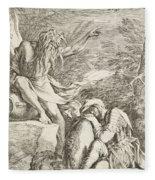 Dream Of Aeneas Fleece Blanket