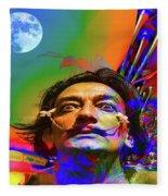 Dream Of Salvador Dali Fleece Blanket