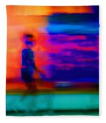 Dream Stroll Fleece Blanket