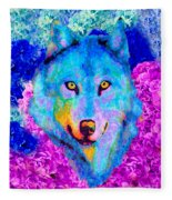 Dream Wolf Fleece Blanket