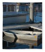 My Dream Yacht Fleece Blanket