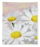 Dreaming Of Daisies Fleece Blanket