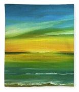 Dreaming Of The Sun Fleece Blanket
