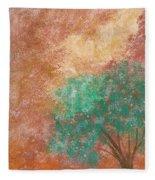 Dreaming Tree Fleece Blanket