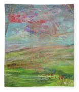 Dreaming Trees Fleece Blanket