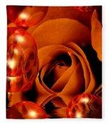 Dreams 1 - Rose Fleece Blanket
