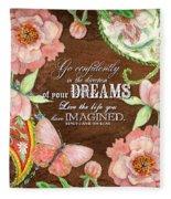 Dreams - Thoreau Fleece Blanket