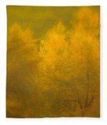 Dreamy Autumn Fleece Blanket