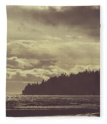 Dreamy Coastline Fleece Blanket