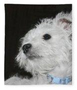 Dreamy Puppy Fleece Blanket