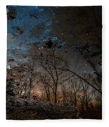 Dreamy Reflections Fleece Blanket