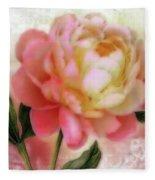 Dreamy Rose Fleece Blanket