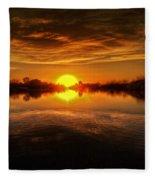 Dreamy Sunset II Fleece Blanket