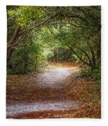 Dreamy Walk Fleece Blanket