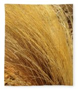 Dried Grass Fleece Blanket