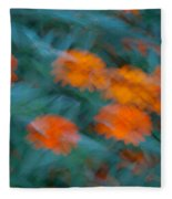 Drifting Daisies Fleece Blanket