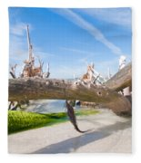 Driftwood C141351 Fleece Blanket