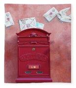 Drop Me A Letter Mr. Postman Fleece Blanket