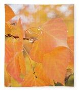 Drops Of Autumn Fleece Blanket