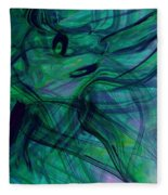 Drowning Fleece Blanket