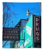 Drugs Fleece Blanket
