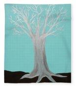 Druid Tree - Original Fleece Blanket