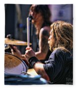 Drummer II Fleece Blanket
