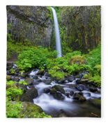 Dry Creek Falls Fleece Blanket