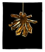 Dry Leaf Collection 4 Fleece Blanket