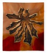 Dry Leaf Collection Digital 1 Fleece Blanket