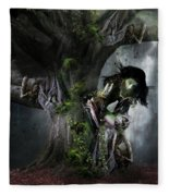 Dryad's Dance Fleece Blanket