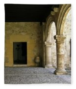 Dual Areches And Urns Fleece Blanket
