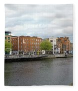Dublin_4 Fleece Blanket