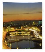 Dublin,co Dublin,irelandview Of The Fleece Blanket