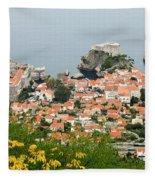 Dubrovnik, The Walled Old City Fleece Blanket