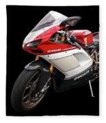 Ducati 1098s Motorcycle Fleece Blanket