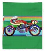 Ducati 750 Ss Corsa Fleece Blanket