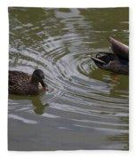 Duck Pair Fleece Blanket