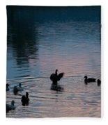 Duck Show Off Fleece Blanket