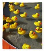 Duckies Fleece Blanket